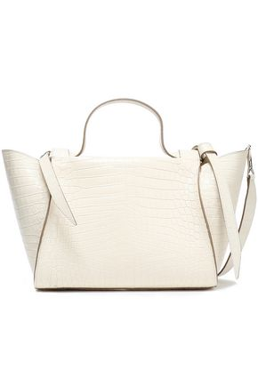 ELENA GHISELLINI Usonia croc-effect leather tote