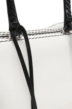 ELENA GHISELLINI Vicky two-tone leather tote