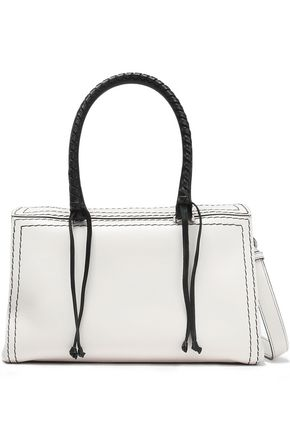 ELENA GHISELLINI Vicky two-tone leather tote