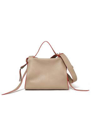 ELENA GHISELLINI Usonia pebbled-leather shoulder bag