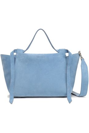 ELENA GHISELLINI Suede shoulder bag