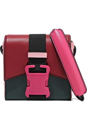 CHRISTOPHER KANE Bonnie color-block leather shoulder bag