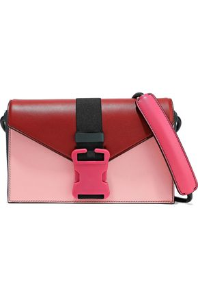 CHRISTOPHER KANE Devine color-block leather shoulder bag