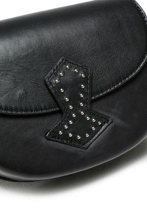 ANTIK BATIK Studded leather shoulder bag