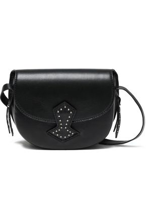 ANTIK BATIK Studded leather shoulder bag