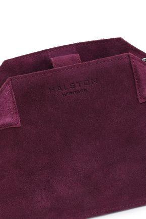 HALSTON HERITAGE Suede shoulder bag
