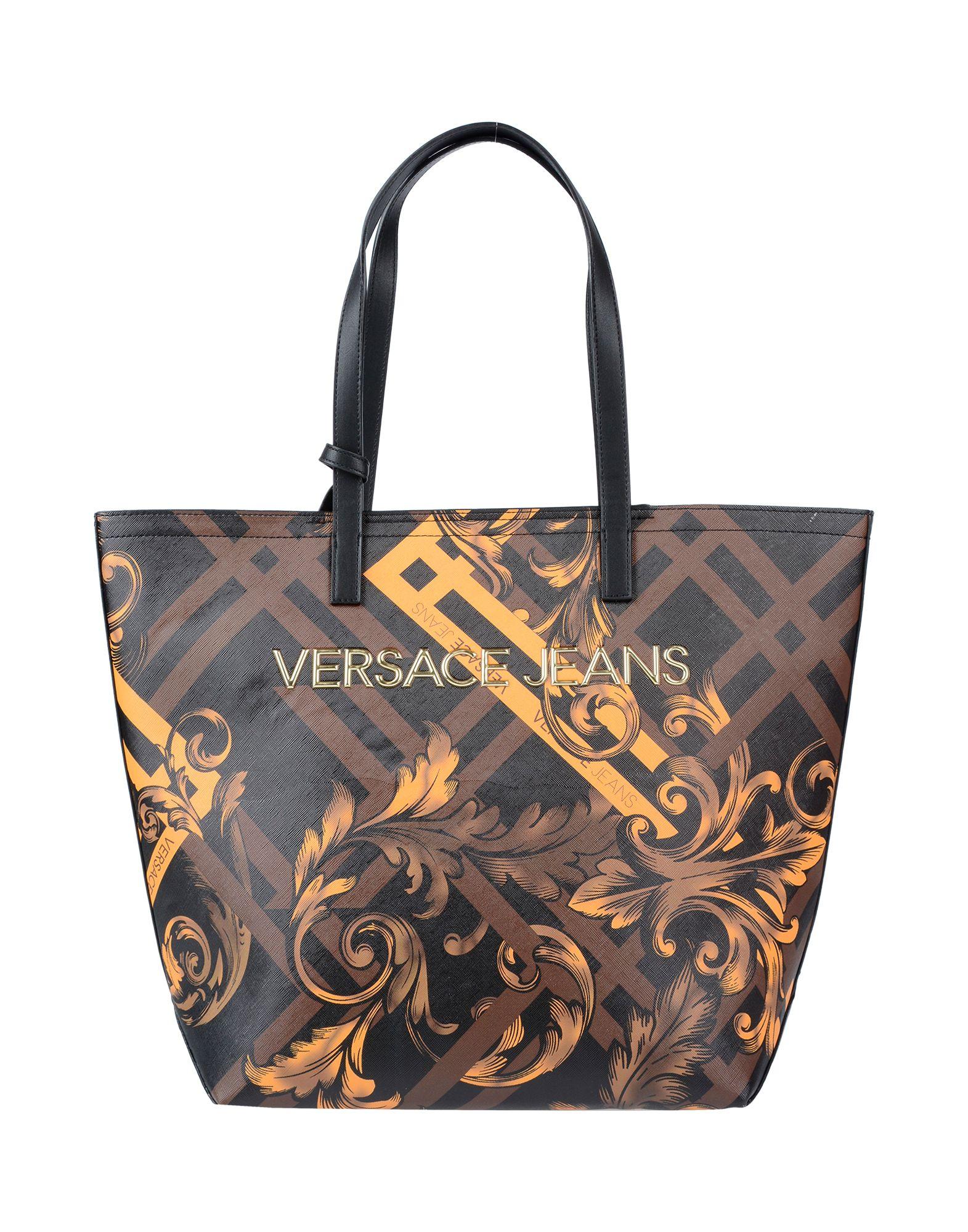 VERSACE JEANS Сумка на руку сумка versace jeans цвет бежевый