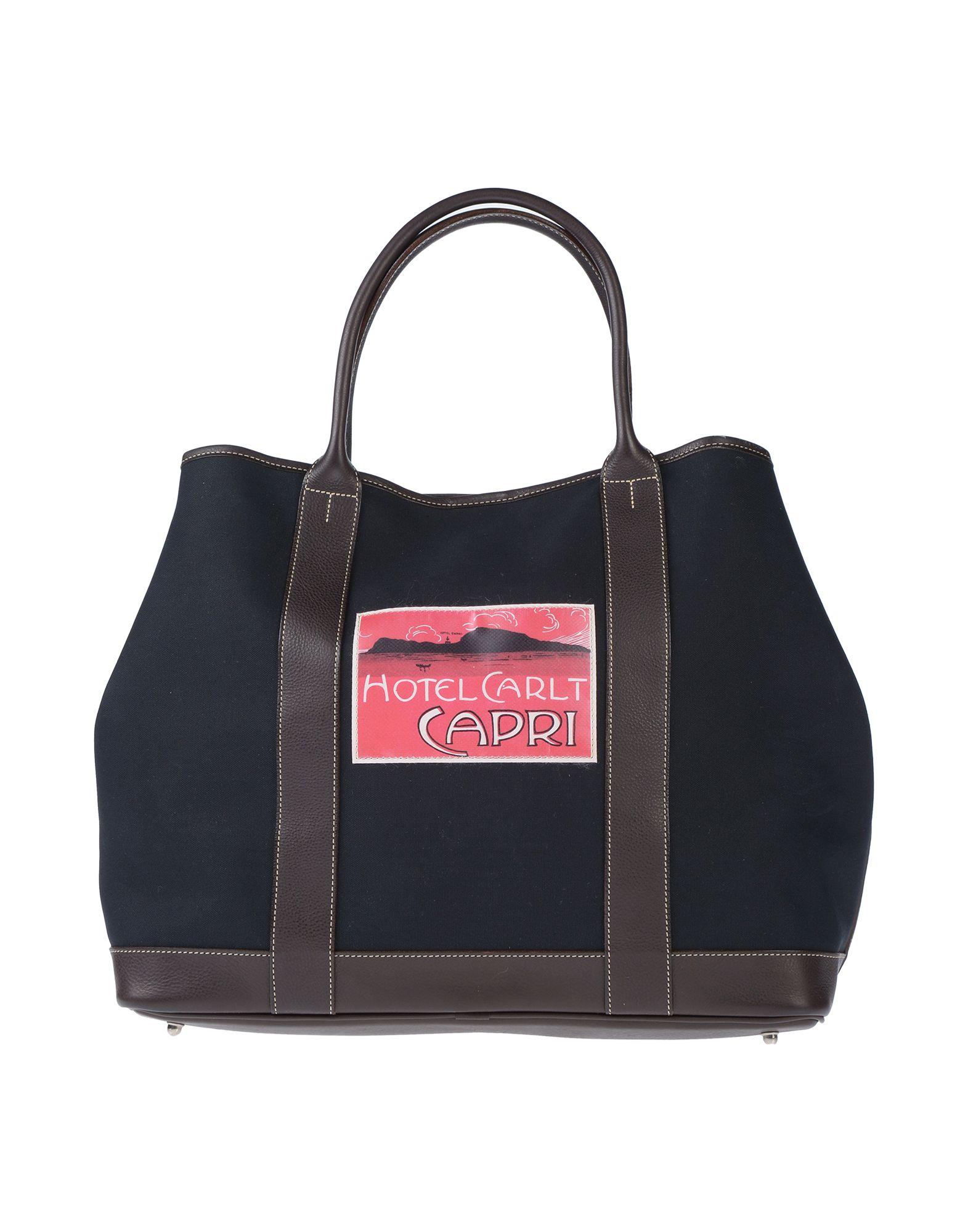 《セール開催中》FELISI レディース ハンドバッグ ブラック 革 / 紡績繊維