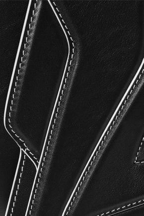 ELENA GHISELLINI Pochette Fatale embossed leather shoulder bag