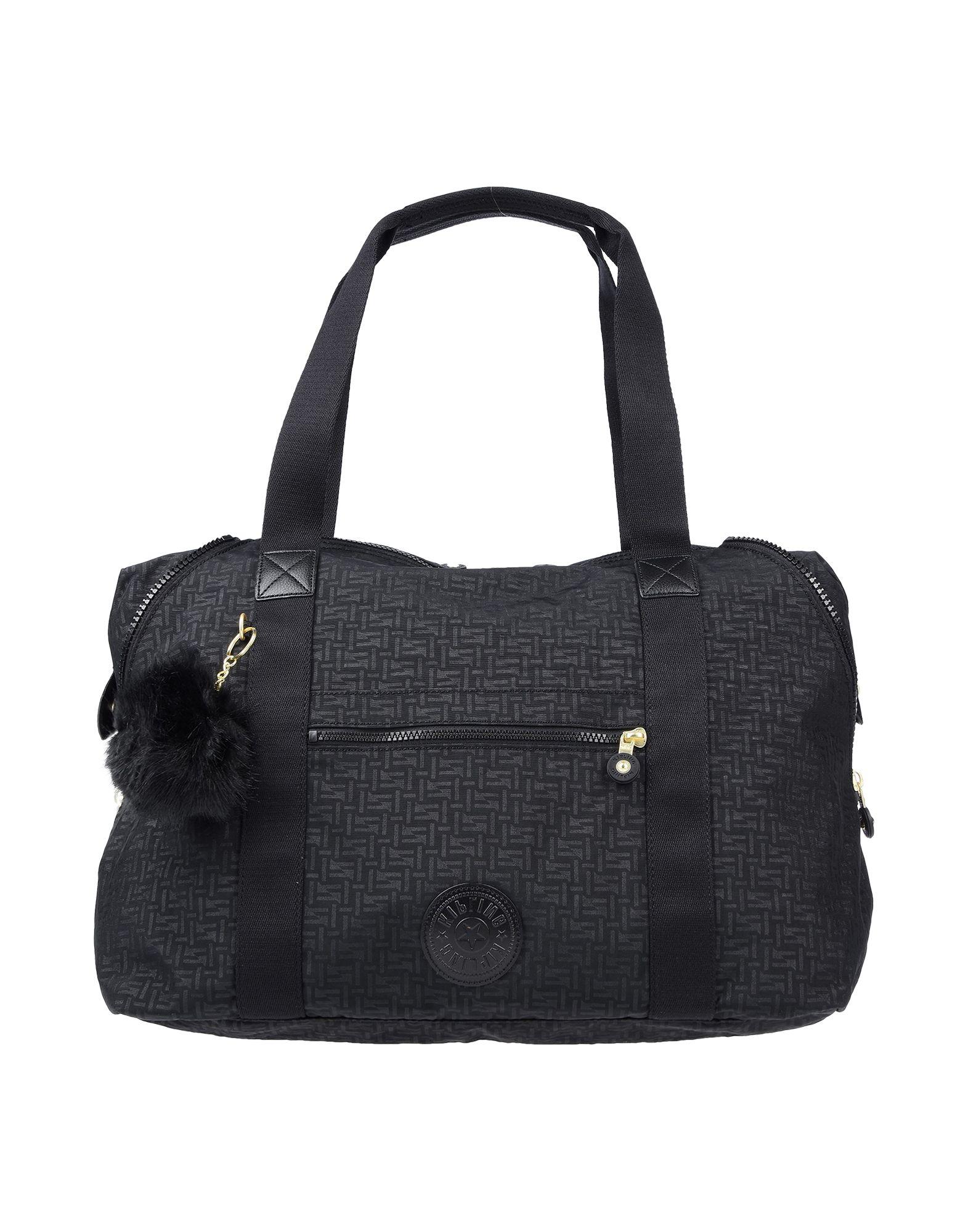 《送料無料》KIPLING レディース ハンドバッグ ブラック 紡績繊維