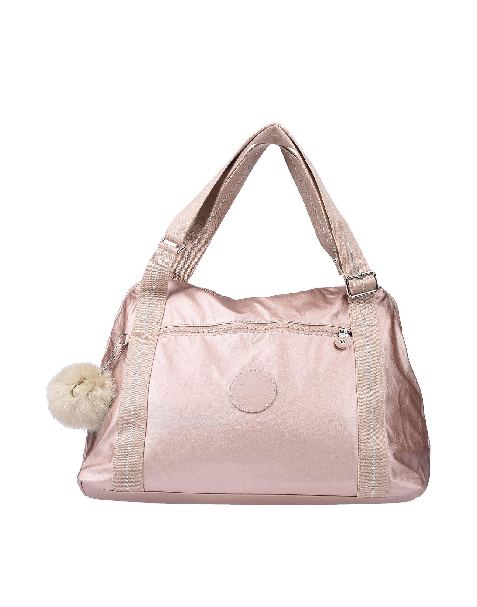 《送料無料》KIPLING レディース ハンドバッグ ピンク 紡績繊維