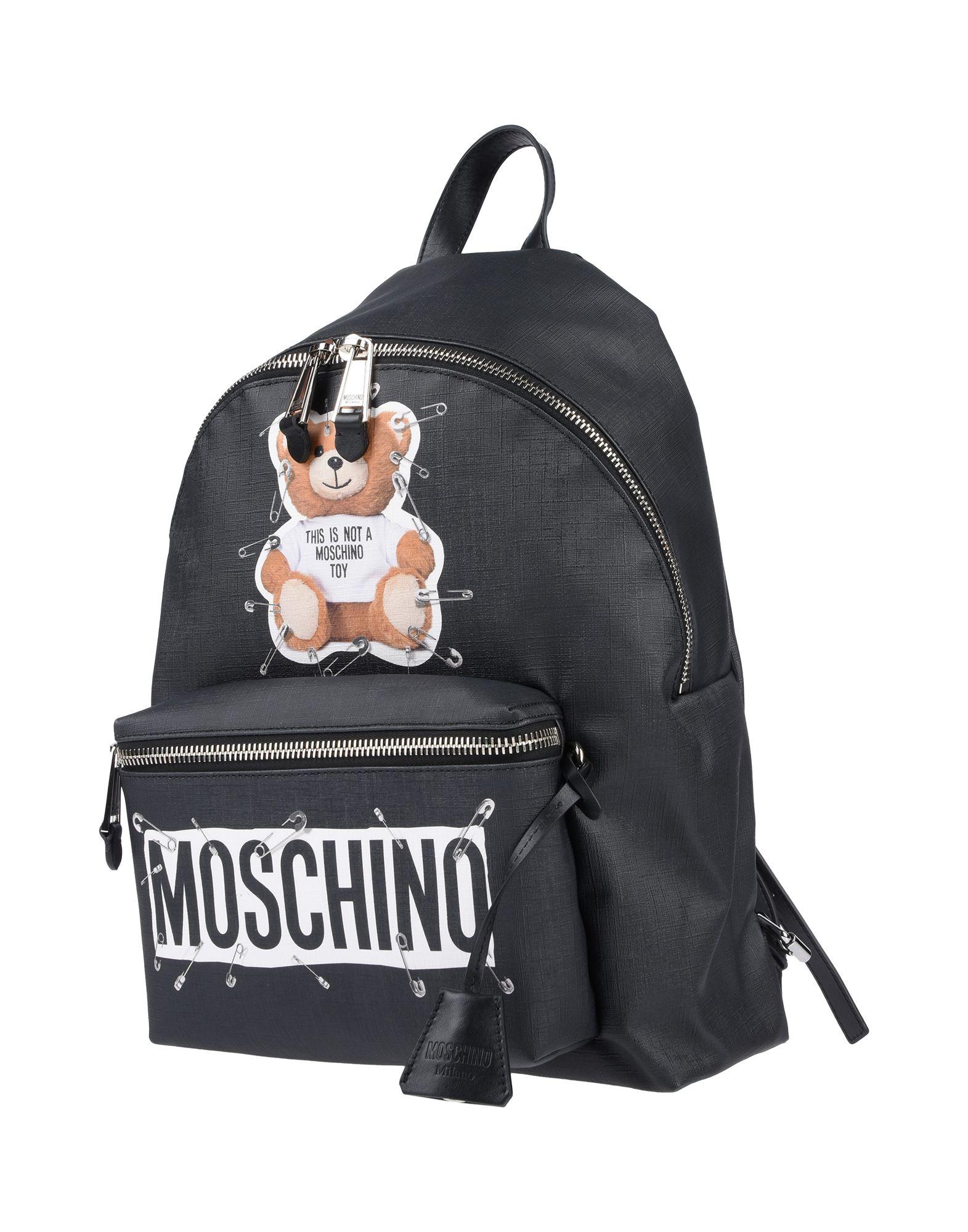MOSCHINO Рюкзаки и сумки на пояс hanerou cute keychain рюкзаки для девочек мода tassel женщины рюкзак женский красочный daypack schoolbag кожаные наплечные сумки