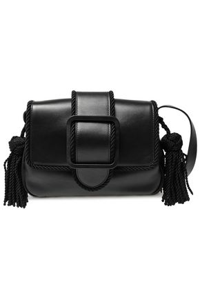 MARCO DE VINCENZO Tasseled leather shoulder bag
