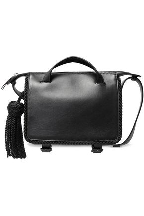 MARCO DE VINCENZO Tasseled leather shoulder bag