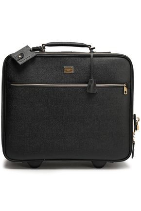 DOLCE & GABBANA Textured-leather suitcase
