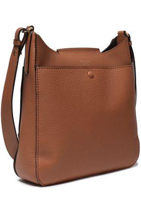 MICHAEL KORS COLLECTION Textured-leather shoulder bag