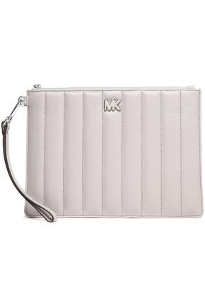 MICHAEL MICHAEL KORS Quilted leather pouch