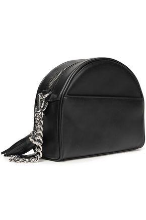 b992a6ec5845 MICHAEL MICHAEL KORS Striped leather shoulder bag