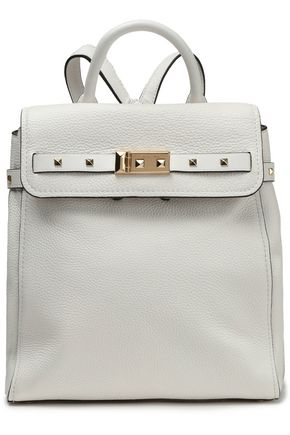MICHAEL MICHAEL KORS Spiked textured-leather backpack