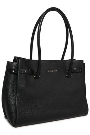 MICHAEL MICHAEL KORS Studded textured-leather tote
