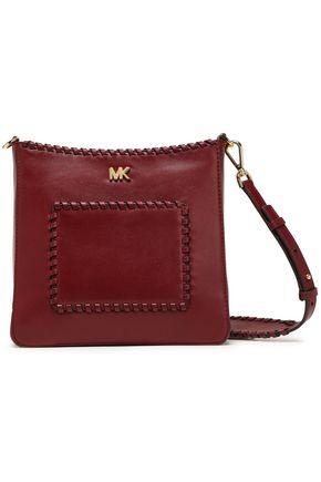 MICHAEL MICHAEL KORS Whipstitched leather shoulder bag
