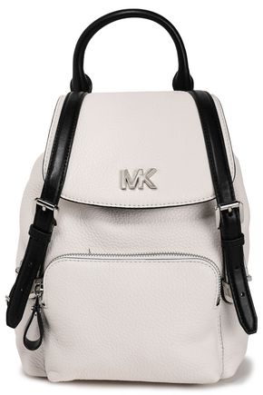 MICHAEL MICHAEL KORS Two-tone textured-leather backpack