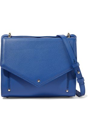 SARA BATTAGLIA Pebbled-leather shoulder bag