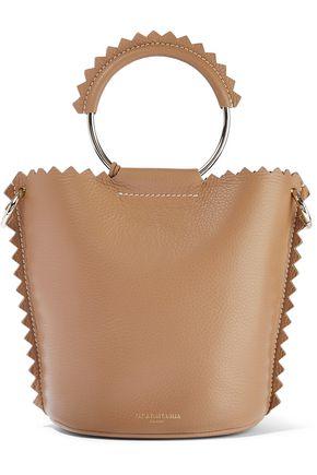 SARA BATTAGLIA Helen pebbled-leather bucket bag