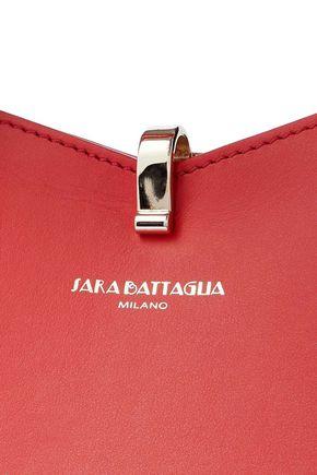 SARA BATTAGLIA Carneira leather tote