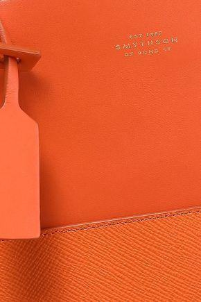 SMYTHSON Paneled leather tote