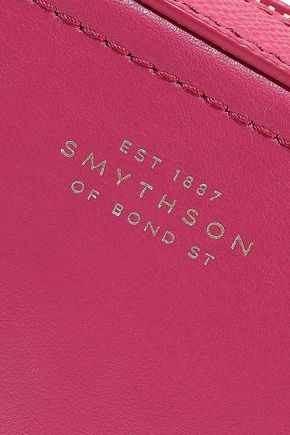 SMYTHSON Panama mini leather shoulder bag