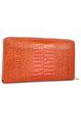 SMYTHSON Croc-effect leather wallet