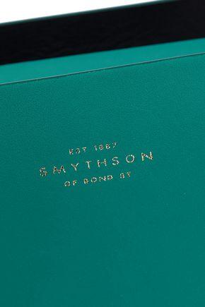 SMYTHSON Compton leather shoulder bag