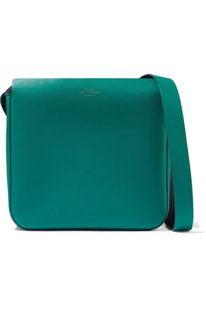SMYTHSON Compton leather shoulder bag