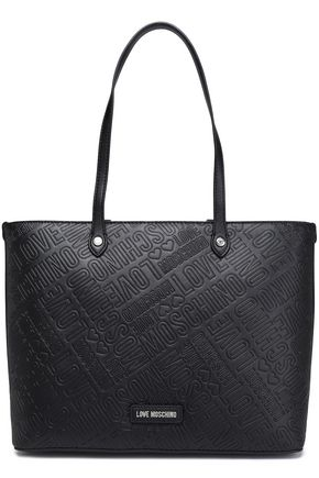 LOVE MOSCHINO Embossed leather tote