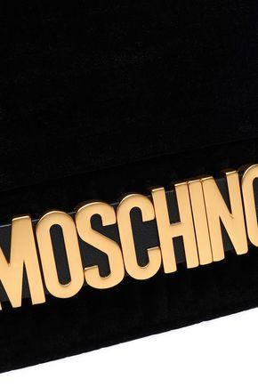 MOSCHINO Velvet shoulder bag