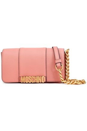 24f91647fa Textured-leather shoulder bag | MOSCHINO | Sale up to 70% off | THE ...