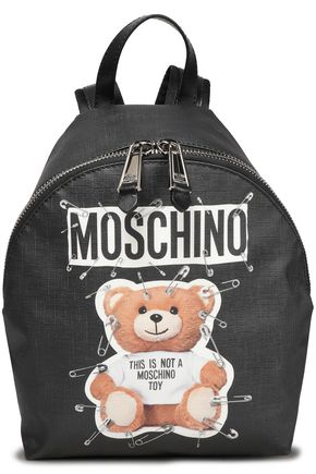 MOSCHINO Printed woven backpack