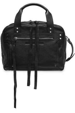 McQ Alexander McQueen Studded leather shoulder bag