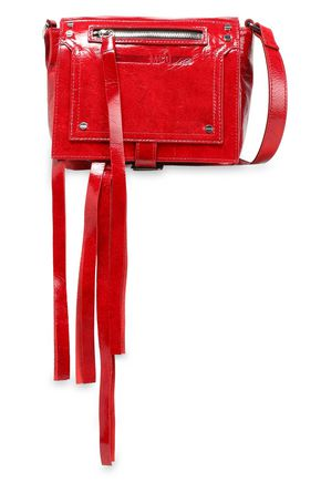 McQ Alexander McQueen Patent-leather shoulder bag