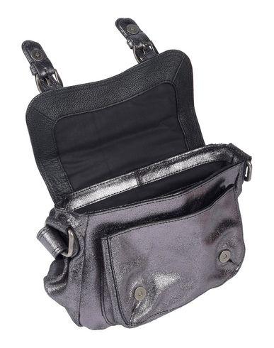Фото 2 - Сумку через плечо от MINORONZONI свинцово-серого цвета