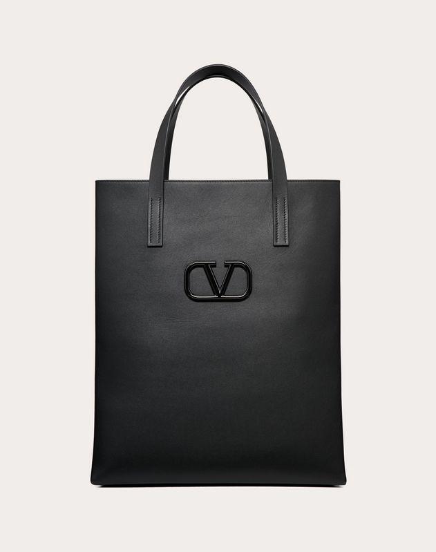 Кожаная сумка-шоппер VLOGO