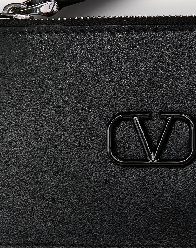 Leather VLOGO card holder