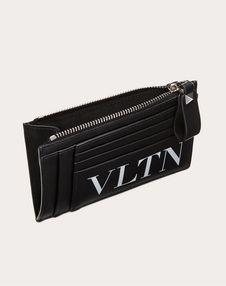 Leather VLTN card holder