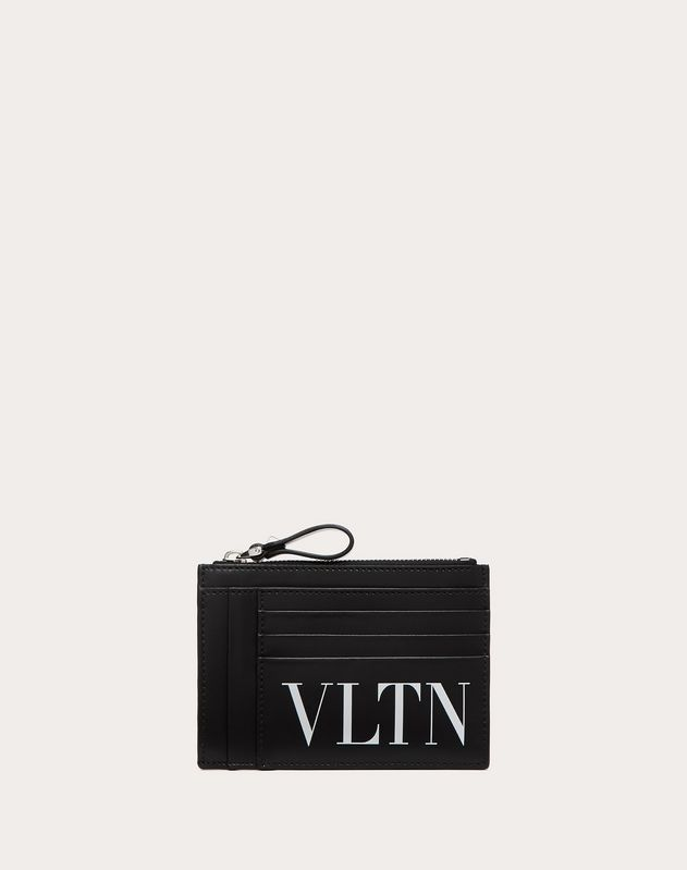 Leather VLTN card holder