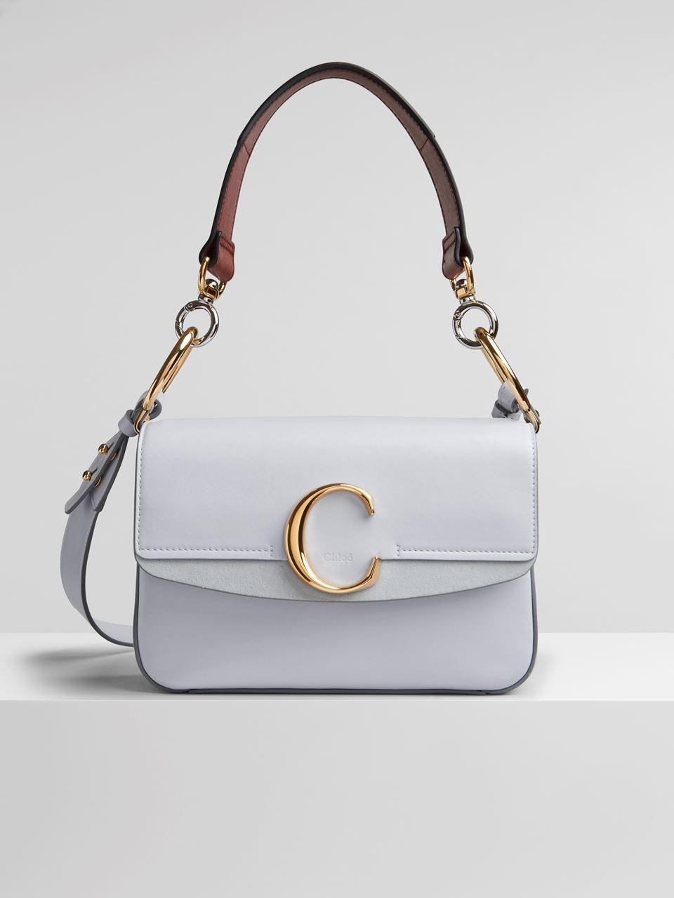 cb57ce29 Small Chloé C Double Carry Bag | Chloé US