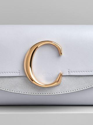 Chloé C 벨트 백