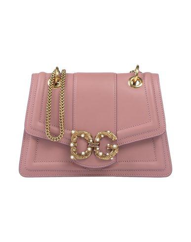 Купить Сумку через плечо пастельно-розового цвета