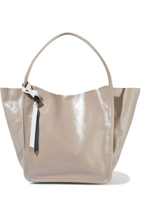 PROENZA SCHOULER Gloss-leather tote