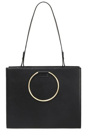 TARA ZADEH Embellished leather shoulder bag